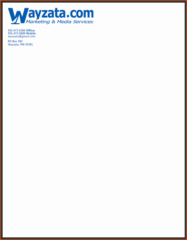 Examples Of Letterheads for Business Lovely 7 Pany Letterhead Samples Bookletemplate