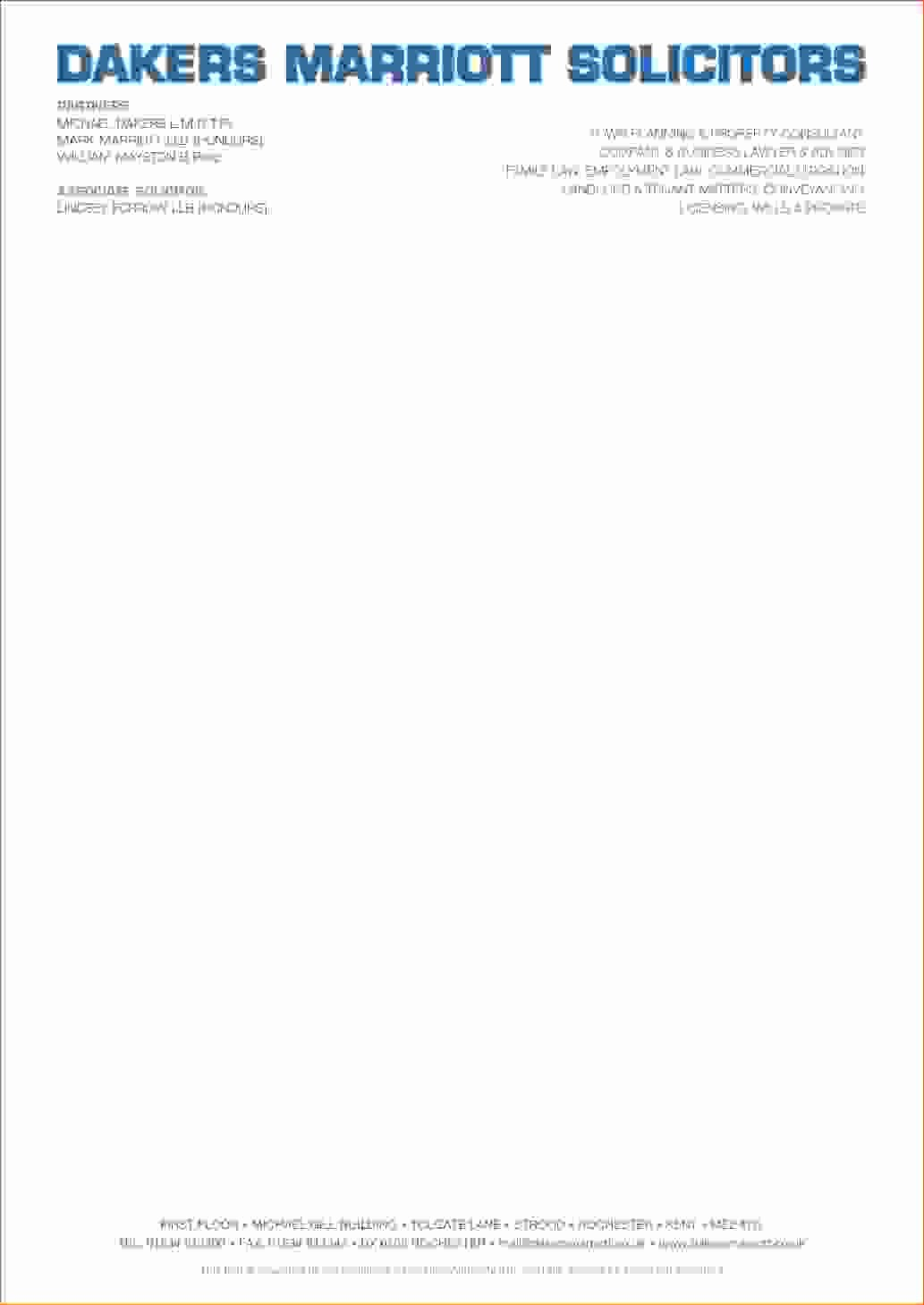 8 business letterhead examples