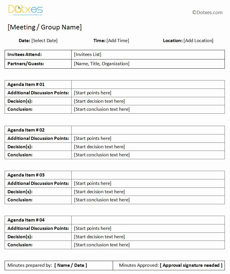 Examples Of Meeting Minutes Template Elegant General Meeting Minutes Template Dotxes