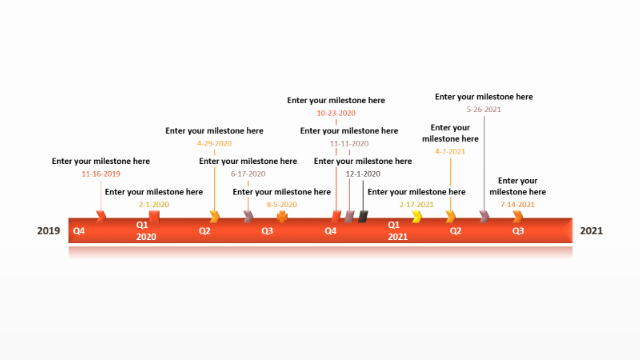 Examples Of Timelines In Powerpoint Best Of Powerpoint Timeline Free Timeline Templates