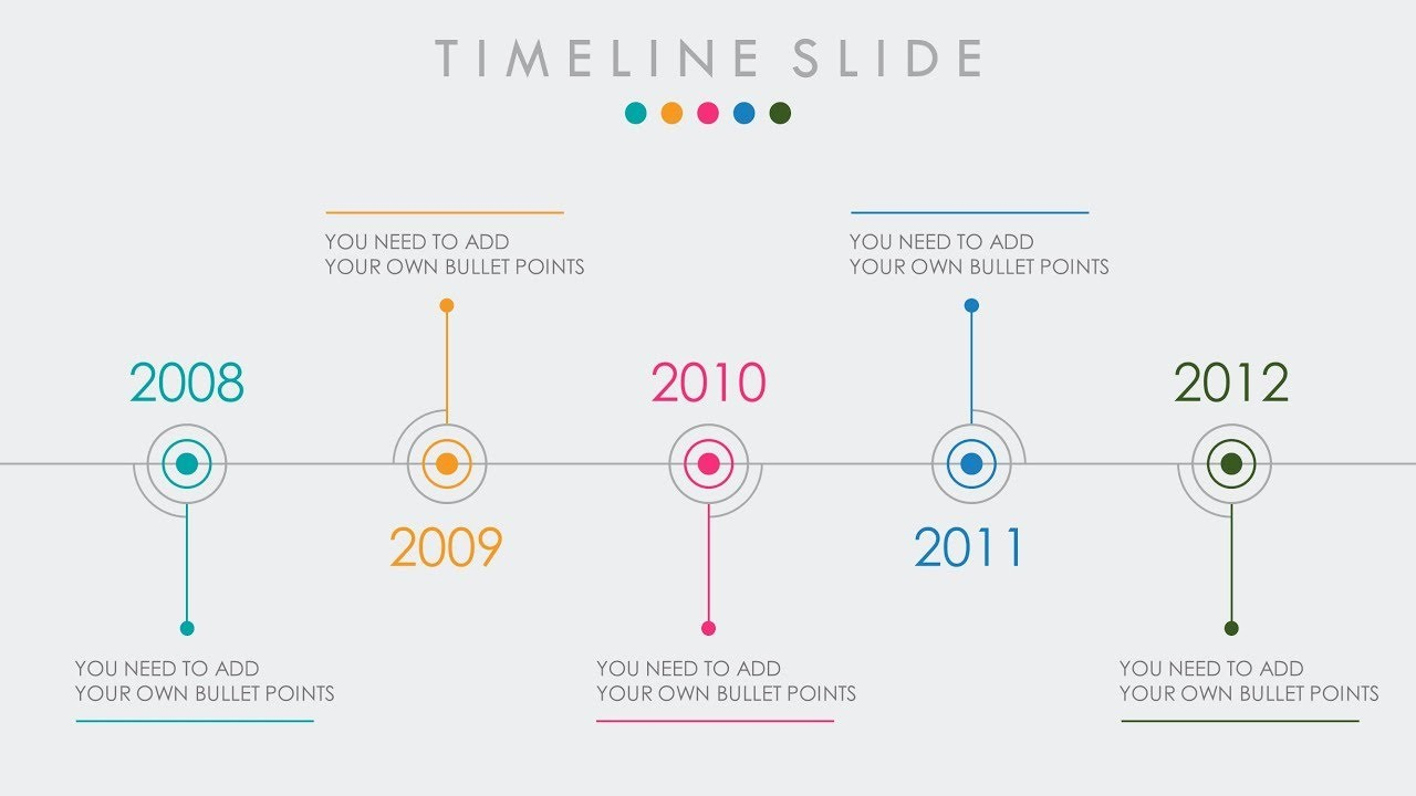 Examples Of Timelines In Powerpoint Luxury Animated Powerpoint Timeline Slide Design Tutorial