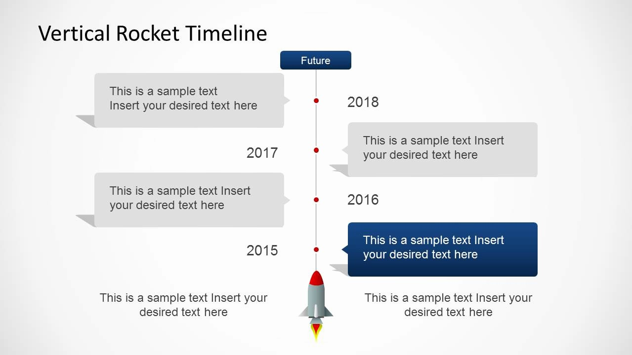 Examples Of Timelines In Powerpoint Luxury Vertical Rocket Timeline Template for Powerpoint Slidemodel