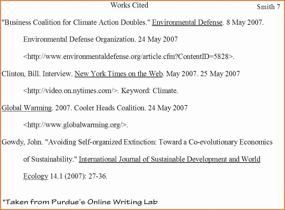 Examples Of Work Cited Pages Lovely Works Cited Mla format Book Generator