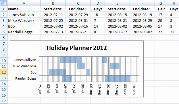 Excel 2016 Calendar with Holidays Inspirational 8 Holiday Planner Templates Excel Templates