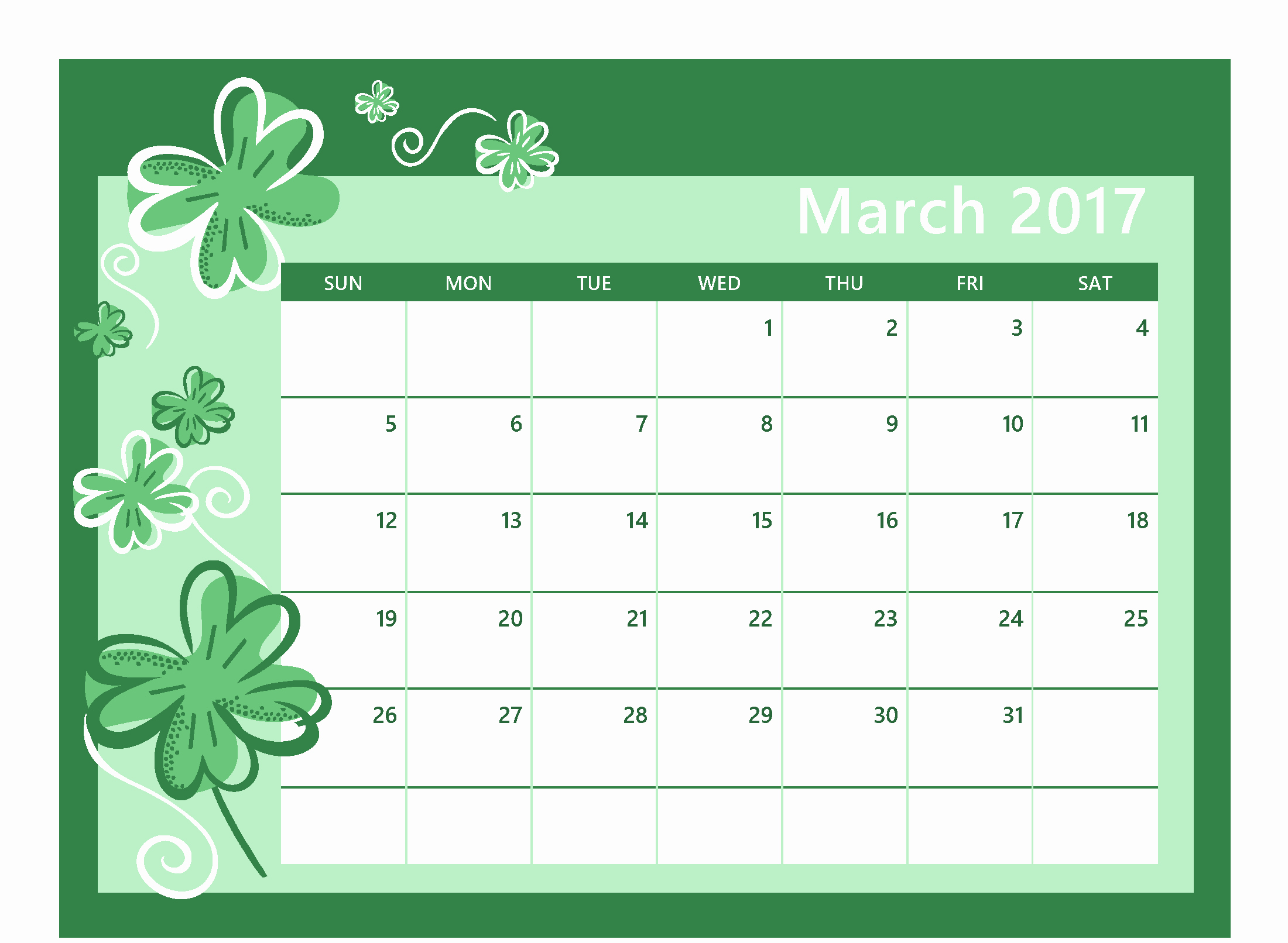 Excel 2017 Calendar with Holidays Awesome Calendar March 2017 Excel Calendar and