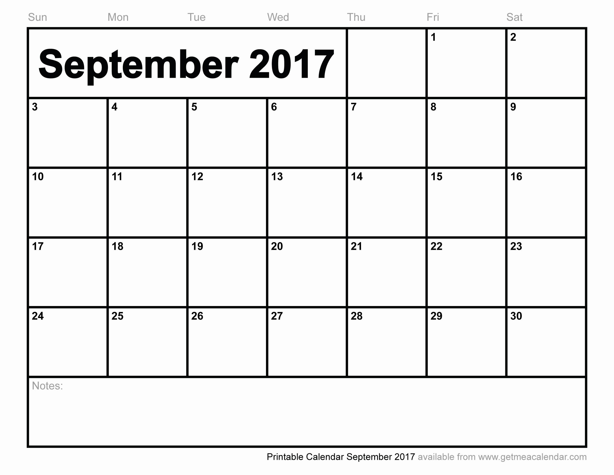 Excel 2017 Calendar with Holidays Luxury September 2017 Calendar Excel