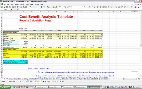 Excel Costing Template Free Download Elegant Cost Benefit Analysis Template Free and