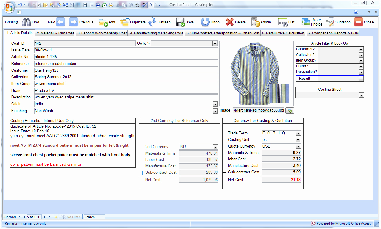 Excel Costing Template Free Download Fresh Product Inventory Template