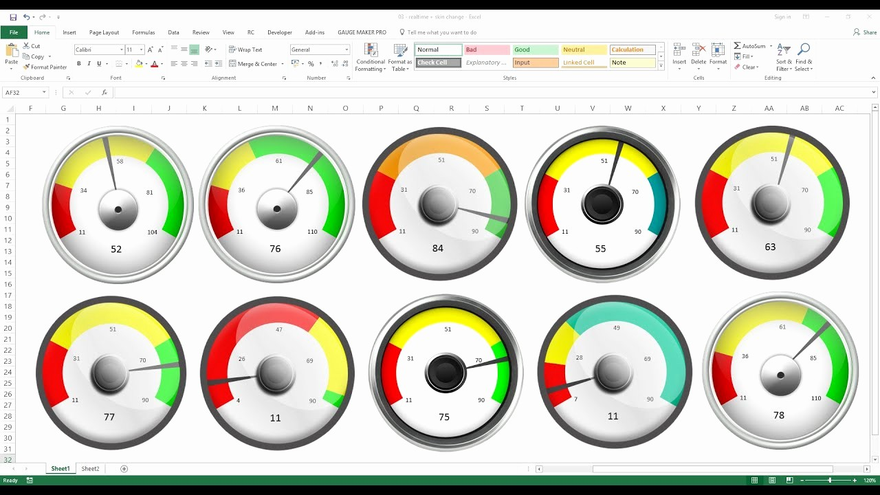 Excel Dashboard Gauges Free Download Fresh How to Create Excel Dashboard