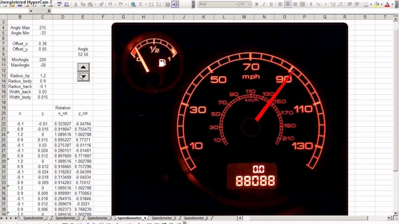 Excel Dashboard Gauges Free Download Lovely Speedometer Chart In Excel 2010 Free Download