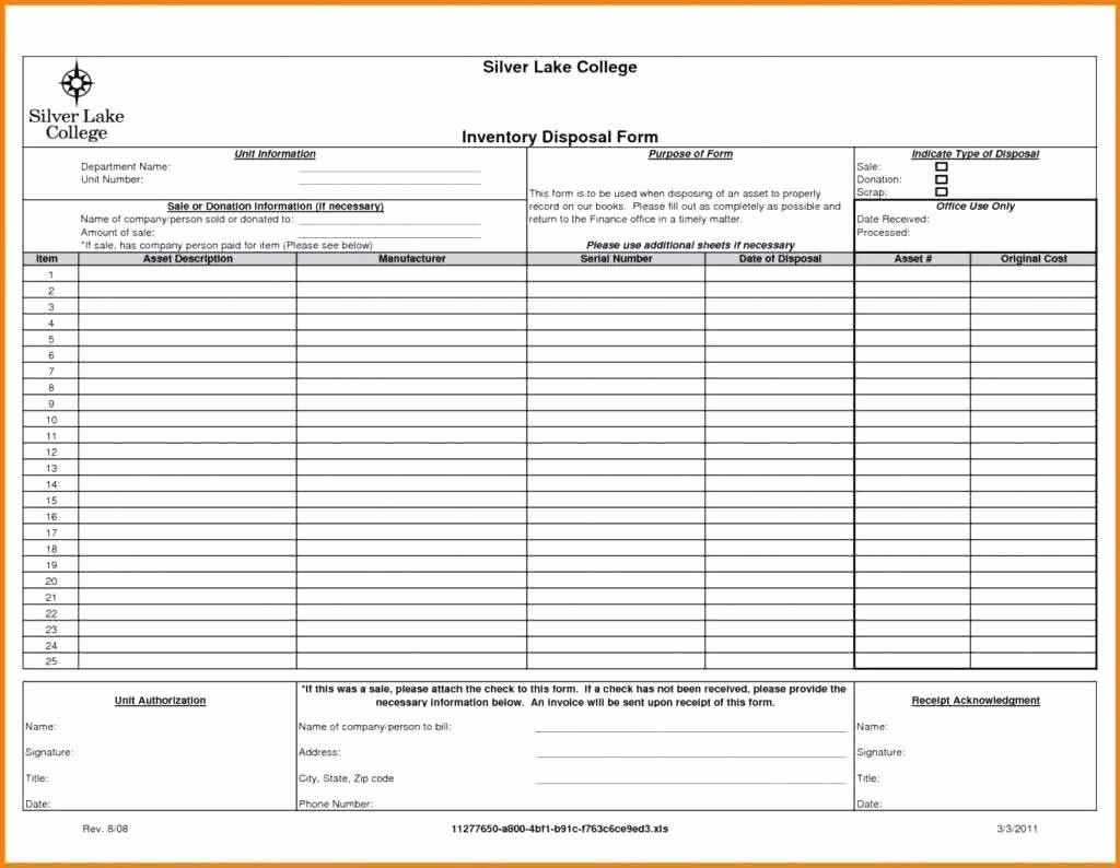 Excel Equipment Inventory List Template Best Of Template Excel Equipment Inventory List Template Business