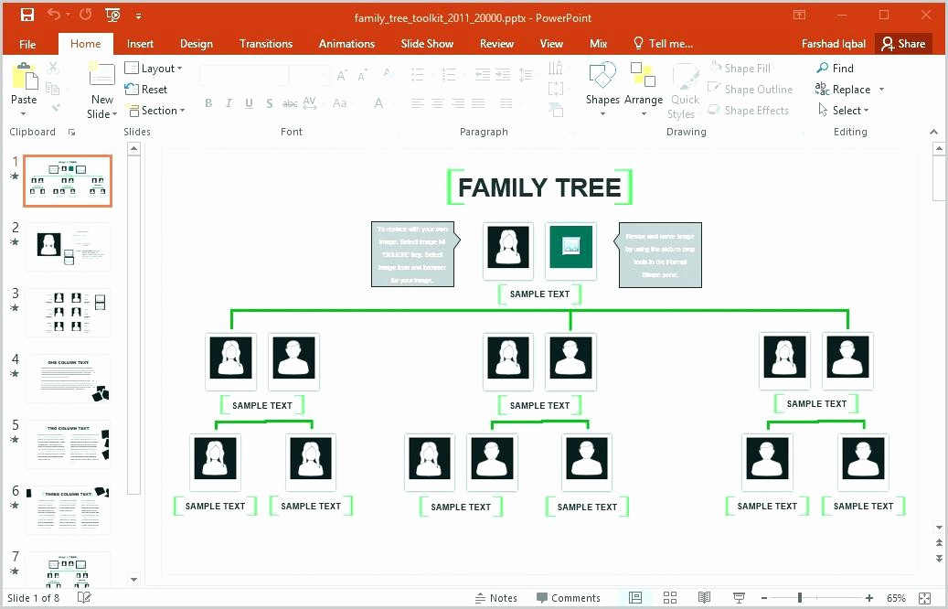 Excel Family Tree Template Free Awesome Ancestry Family Tree format Interrelationship Diagram
