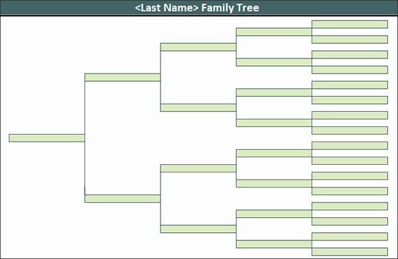 Excel Family Tree Template Free Beautiful 53 Family Tree Templates
