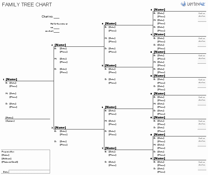Excel Family Tree Template Free Lovely Free Family Tree Template