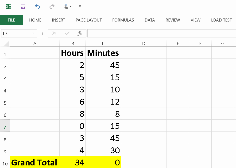 Excel formula for Payroll Hours Fresh How to Calculate Minutes Into Hours In Excel How to
