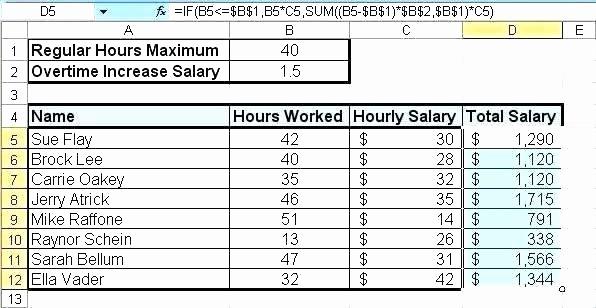 Excel formula for Payroll Hours Luxury Payroll Calculator Excel – Konservasyonub