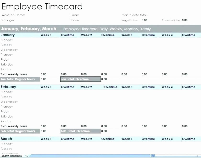Excel formula for Time Card Fresh Excel Timesheet Template with Lunch and Overtime Templates