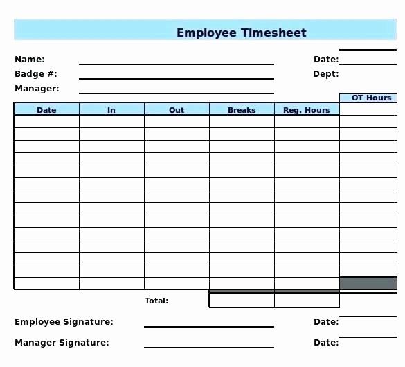 Excel formula for Time Card Fresh Timecard In Excel with formulas Excel Weekly Excel formula