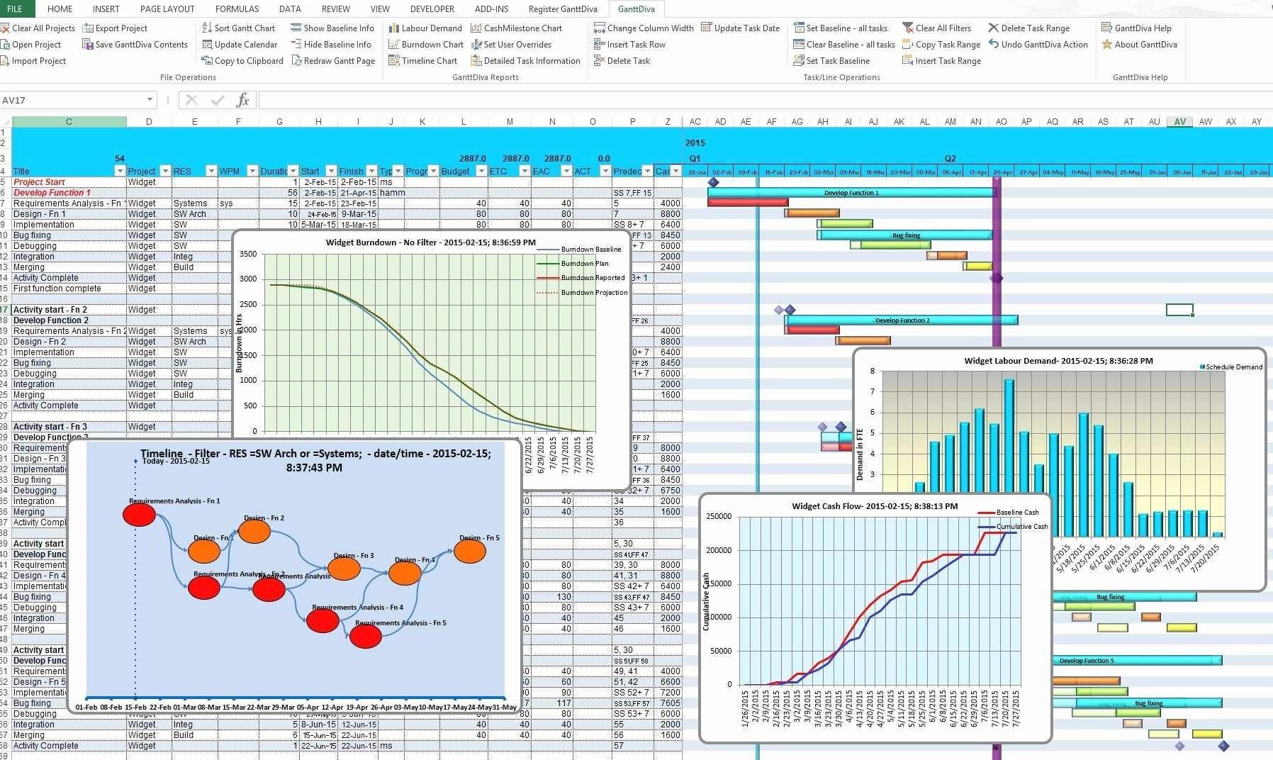 Excel Gantt Project Planner Template Luxury Awesome Gantt Project Planner Template with Microsoft
