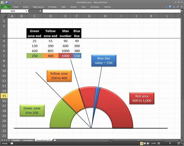 Excel Gauge Chart Template Download Beautiful 36 Excel Chart Templates