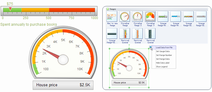 Excel Gauge Chart Template Download Fresh Speedometer Excel Chart