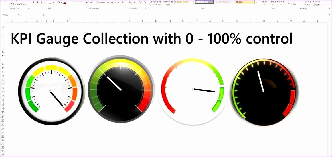 Excel Gauge Chart Template Download Unique 10 Simple Excel Spreadsheet Template Exceltemplates