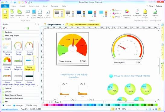 Excel Gauge Chart Template Download Unique 11 Excel Gauge Chart Template Exceltemplates