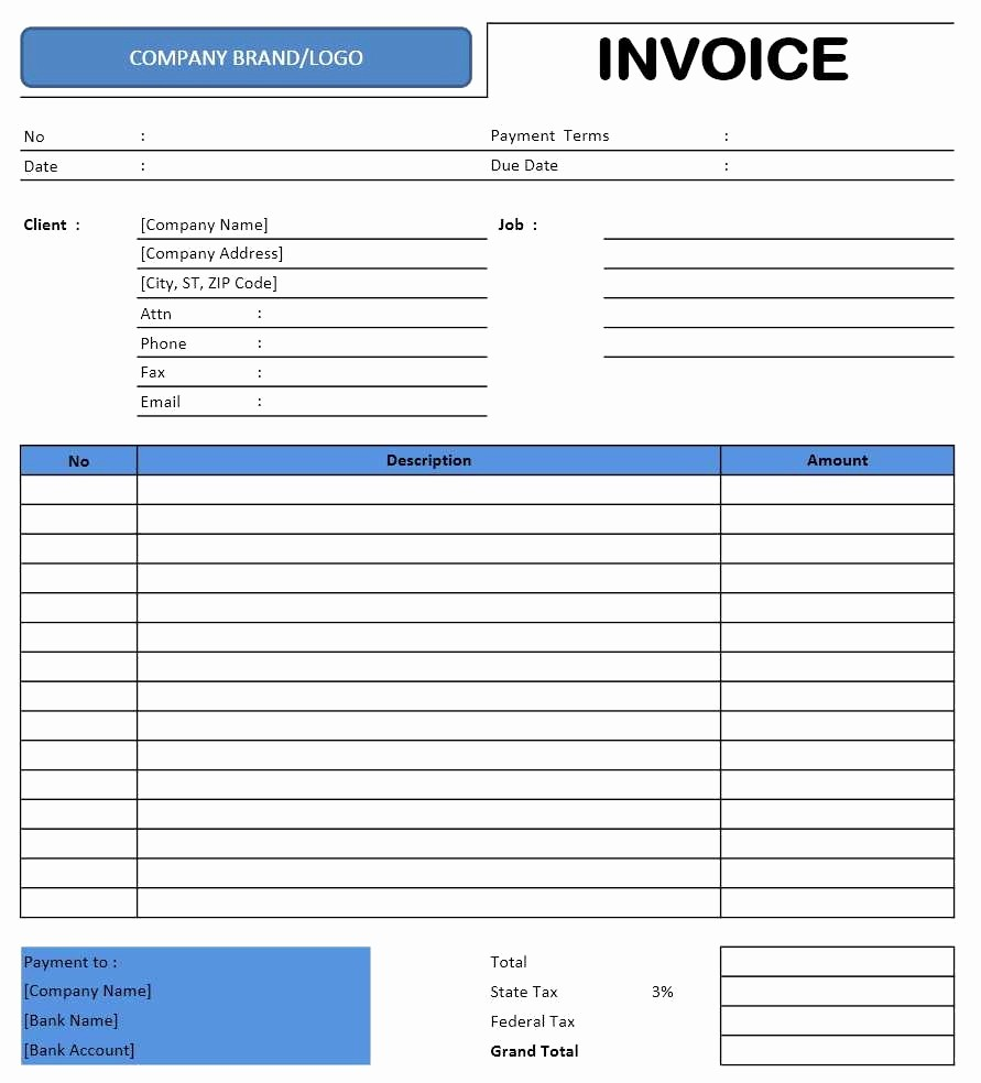 Excel Invoice Template Free Download Luxury Free Invoice Template Download Freelance Invoice Template