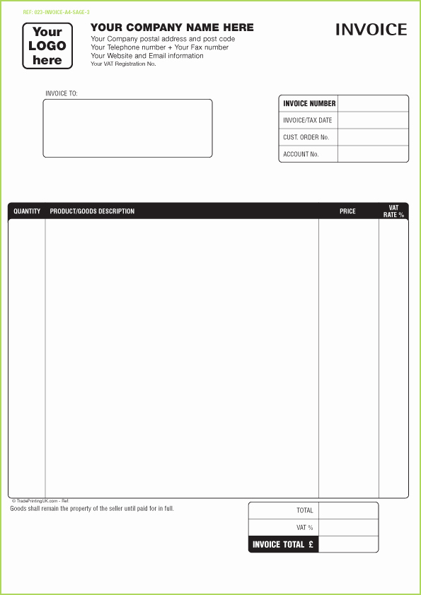 Excel Invoice Template with Logo Lovely Cleaning Invoice Template Uk