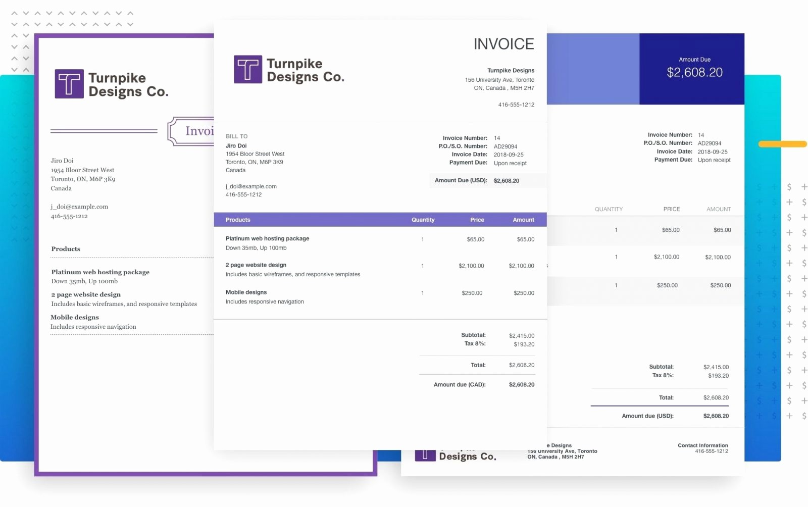 Excel Invoice Template with Logo Luxury Billing software Invoicing for Your Business Example