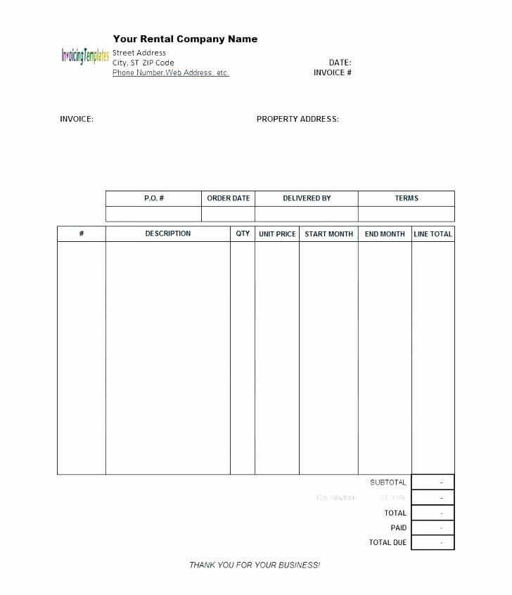Excel Invoice Template with Logo New Invoice Template Download Free Personal Invoice