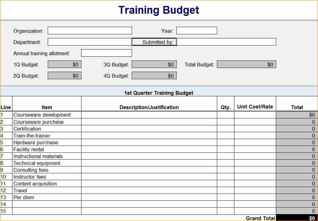 Excel Line Item Budget Template Elegant Line Item Bud Template Excel – thedl