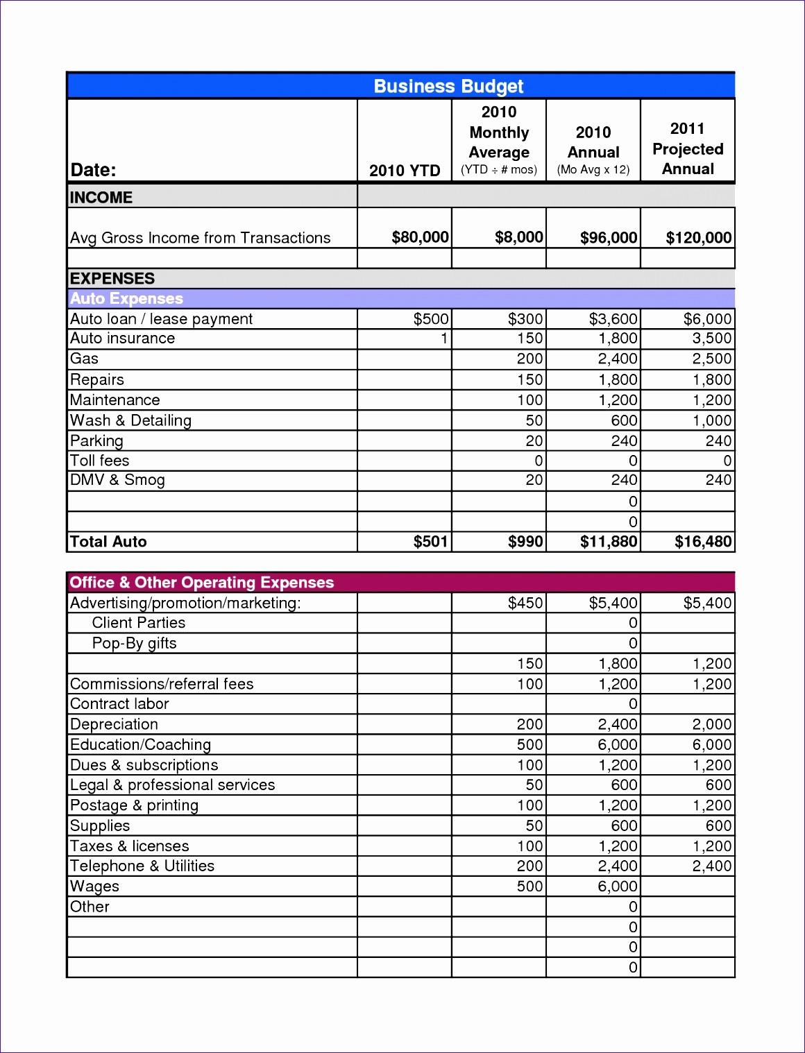 Excel Line Item Budget Template Inspirational 10 Annual Bud Template Excel Exceltemplates