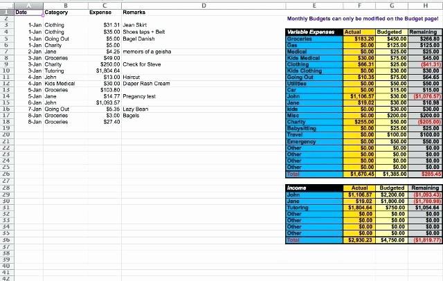 Excel Line Item Budget Template Unique Bud Template Line Item Excel for Resume Download 7