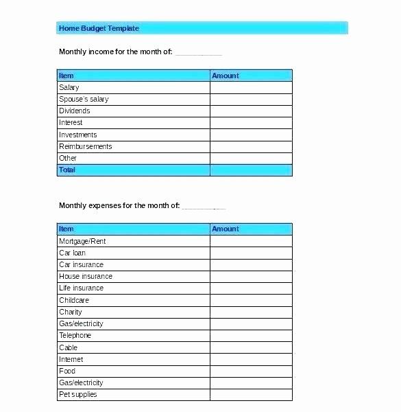 Excel Line Item Budget Template Unique Line Item Bud Template Excel Families Templates for