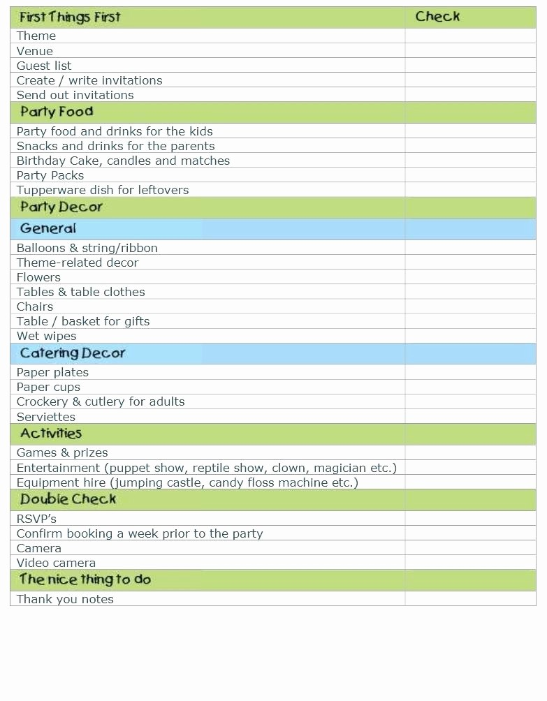 Excel Party Guest List Template Lovely Free Printable Wedding Guest List Template Birthday