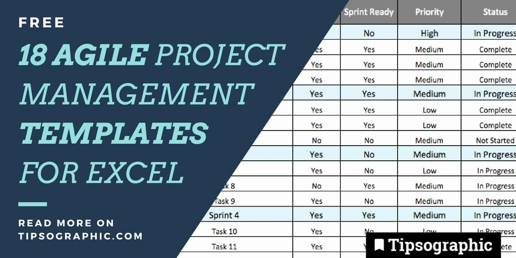 Excel Project Management Templates Free New 18 Jackpot Agile Project Management Templates for Excel