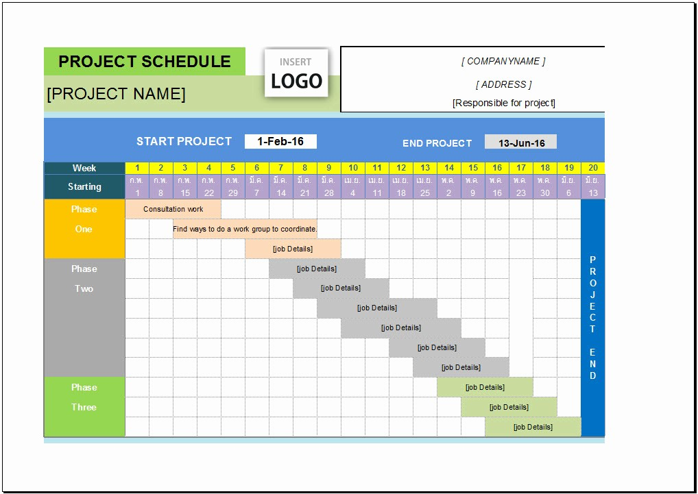 Excel Project Management Templates Free New Download Download Gantt Chart Template Pro