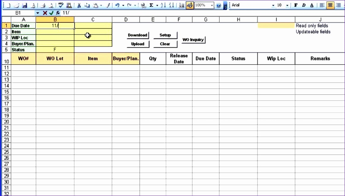 Excel Purchase order Template Free Elegant 5 Excel Po Template Exceltemplates Exceltemplates