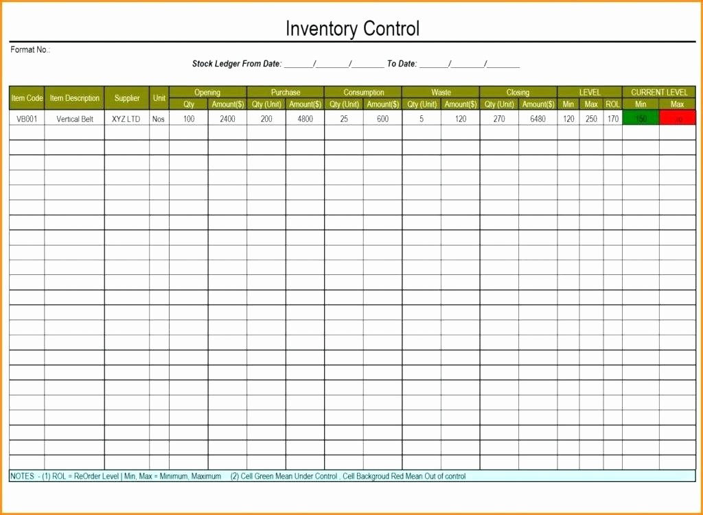 Excel Sheet for Inventory Control Unique Stock Inventory Control Template Management Xls Liquor