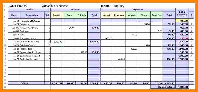 Excel Small Business Accounting Template Luxury 5 Excel Accounting Template for Small Business