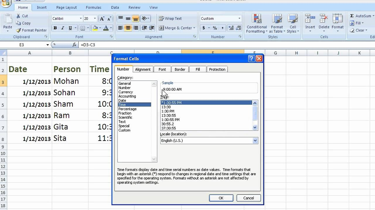 Excel Spreadsheet for Hours Worked Beautiful How to Calculate total Hours In Excel 2013 Excel Magic