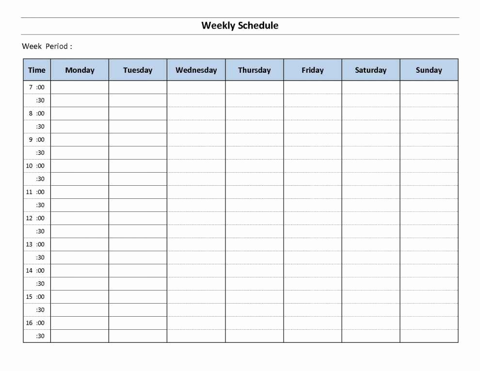 Excel Spreadsheet for Hours Worked Fresh Employee Schedule Excel Spreadsheet