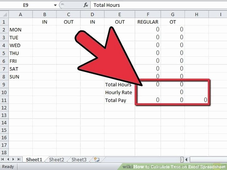 Excel Spreadsheet for Hours Worked New Spreadsheet to Calculate Hours Worked In Excel