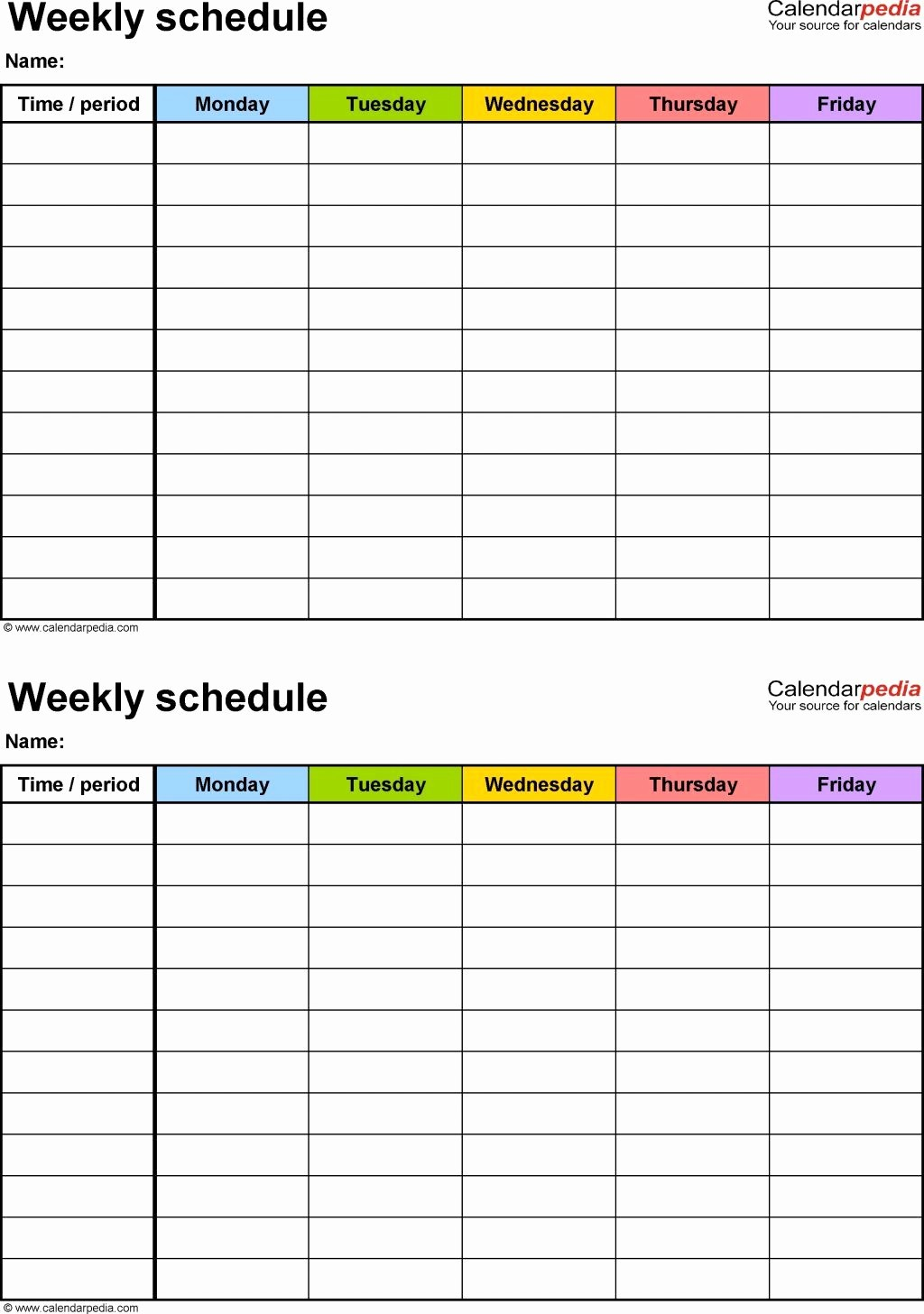 Excel Spreadsheet for Hours Worked Unique Weekly Work Schedule Spreadsheet Hours Worked Template
