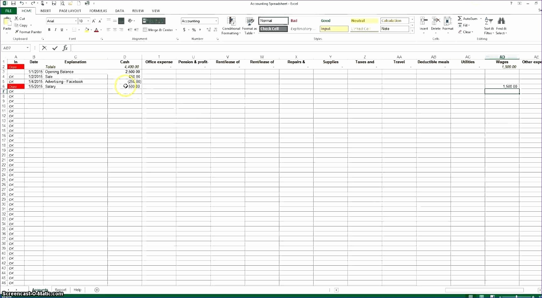 Excel Spreadsheet for Mileage Log Awesome Template Excel Mileage Log Template