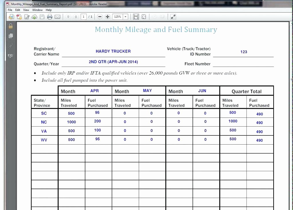 Excel Spreadsheet for Mileage Log Luxury Truck Mileage Log Spreadsheet 2014 Excel – Trejos