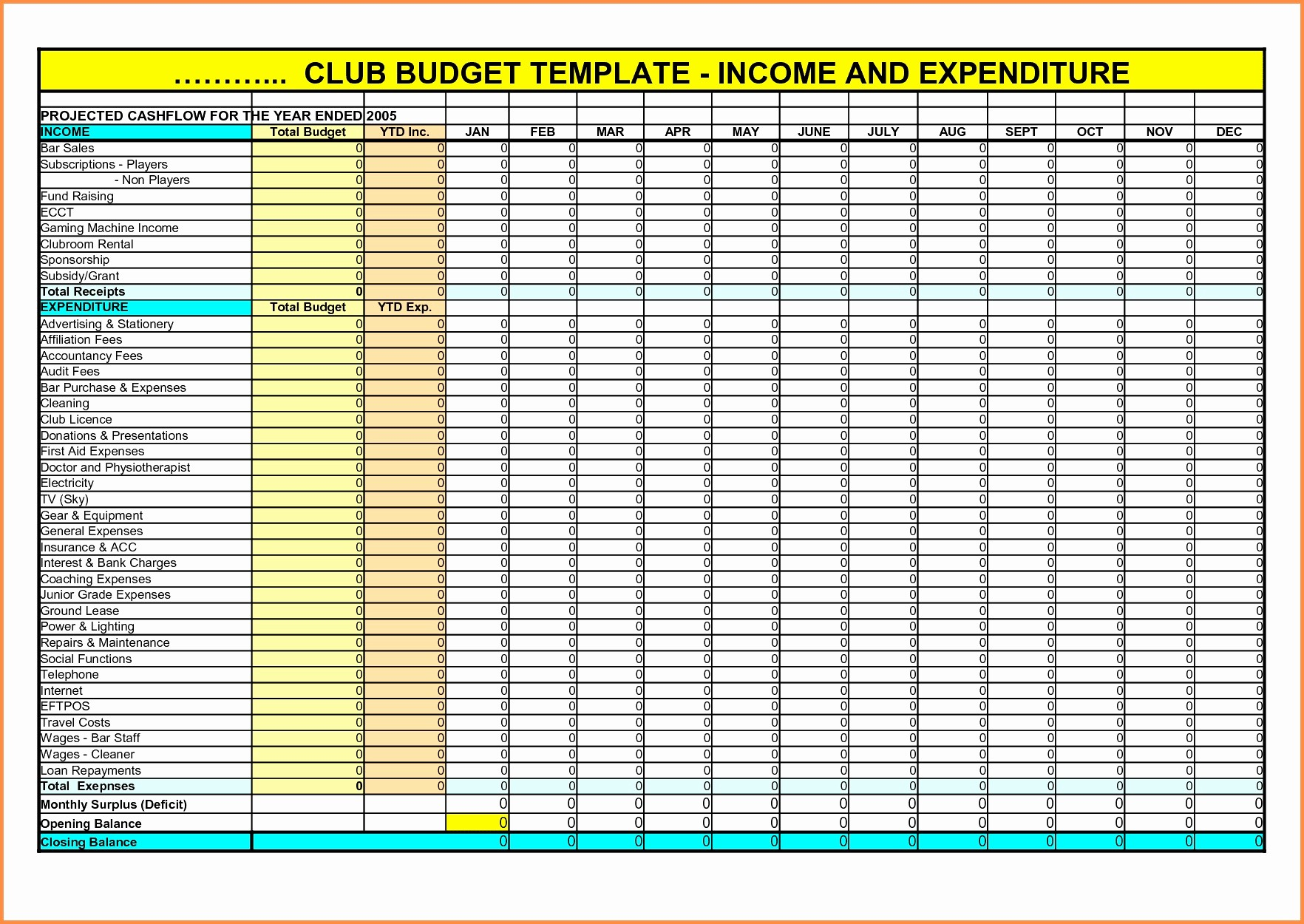Excel Spreadsheet for Small Business Awesome Small Business In E and Expenses Spreadsheet with