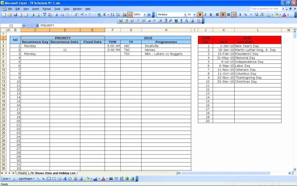 Excel Spreadsheet Template for Scheduling Best Of Schedule Spreadsheet Template Spreadsheet Templates for