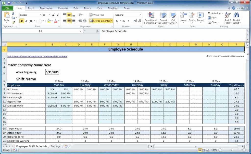 Excel Spreadsheet Template for Scheduling Elegant Excel Schedule Template Excel Spreadsheet Template
